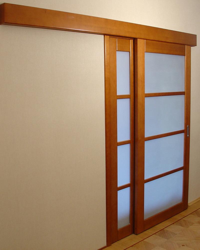 Сделать раздвижные межкомнатные двери своими руками
